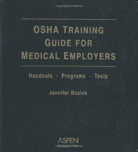 Download OSHA Training Guide for Medical Employers