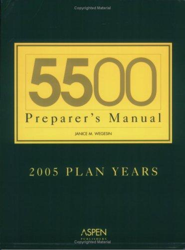 Download 5500 Preparer's Manual