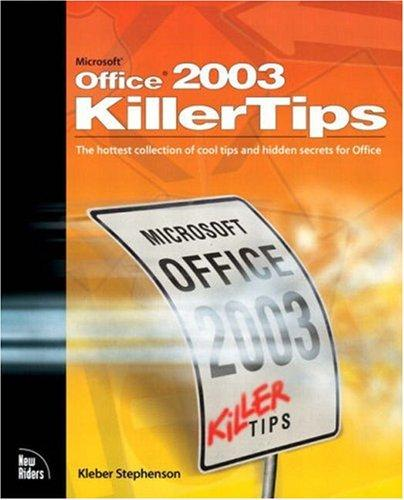 Download Microsoft Office 2003 Killer Tips