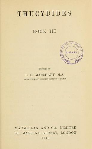 Thucydides book III