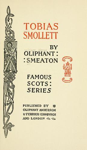 Download Tobias Smollett