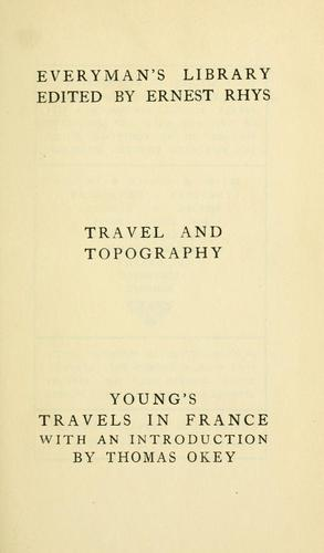 Download Travels in France & Italy during the years 1787, 1788 and 1789.