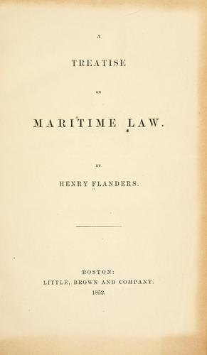 Download A treatise on maritime law