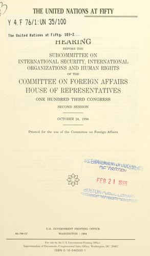 The United Nations at fifty