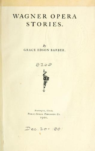 Download Wagner opera stories.