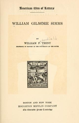 Download William Gilmore Simms