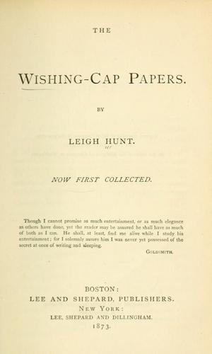 The wishing-cap papers.