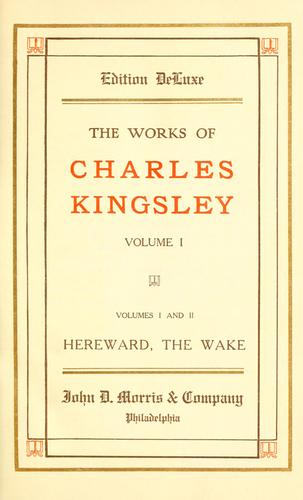 The works of Charles Kingsley.