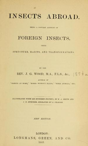 Download Insects abroad