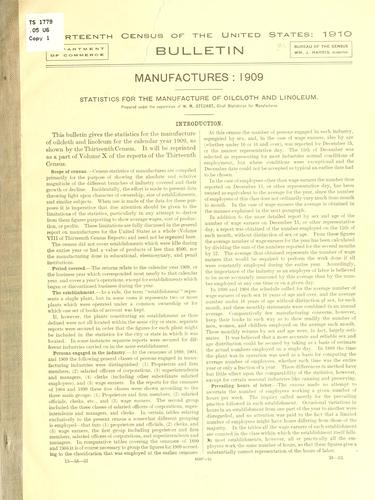 Download Thirteenth census of the United States: 1910.