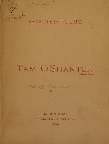 Tam o' Shanter.