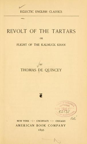 Revolt of the Tartars