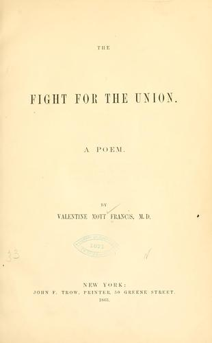 Download The fight for the Union.