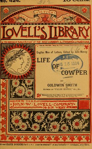 Download Life of Cowper.