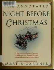 Cover of: The Annotated Night before Christmas | Martin Gardner