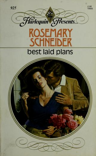 Best Laid Plans by Rosemary Schneider