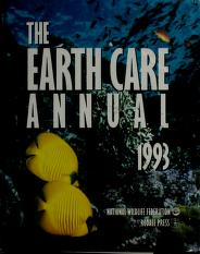 Cover of: The Earth Care Annual, 1993 (Earth Care Annual) | Russell Wild