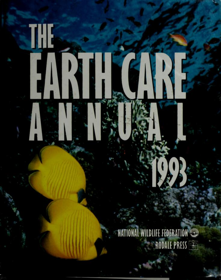 The Earth Care Annual, 1993 (Earth Care Annual) by Russell Wild