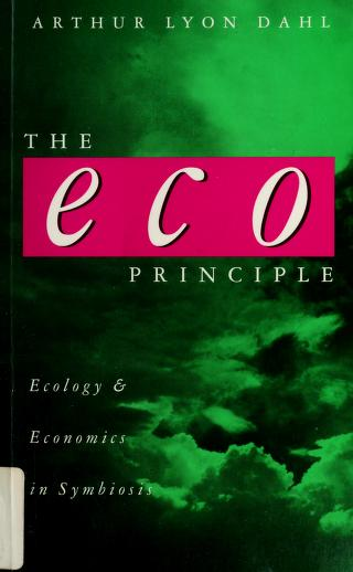 Cover of: The eco principle | Arthur L. Dahl
