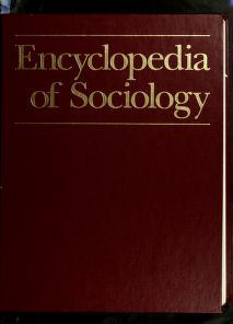 Cover of: Encyclopedia of Sociology, Vol. 3 | Borgatta, Edgar F.