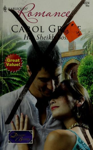 Cover of: Her Sheikh Boss (Harlequin Romance)   Carol Grace