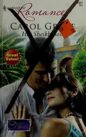 Her Sheikh Boss (Harlequin Romance) by Carol Grace