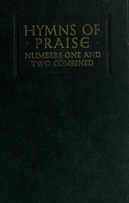 Cover of: Hymns of praise | F. G. Kingsbury