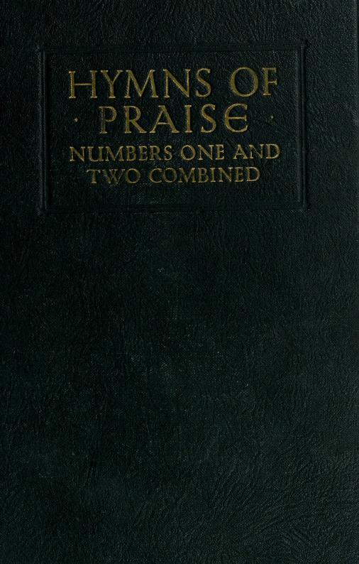 Hymns of praise by F. G. Kingsbury