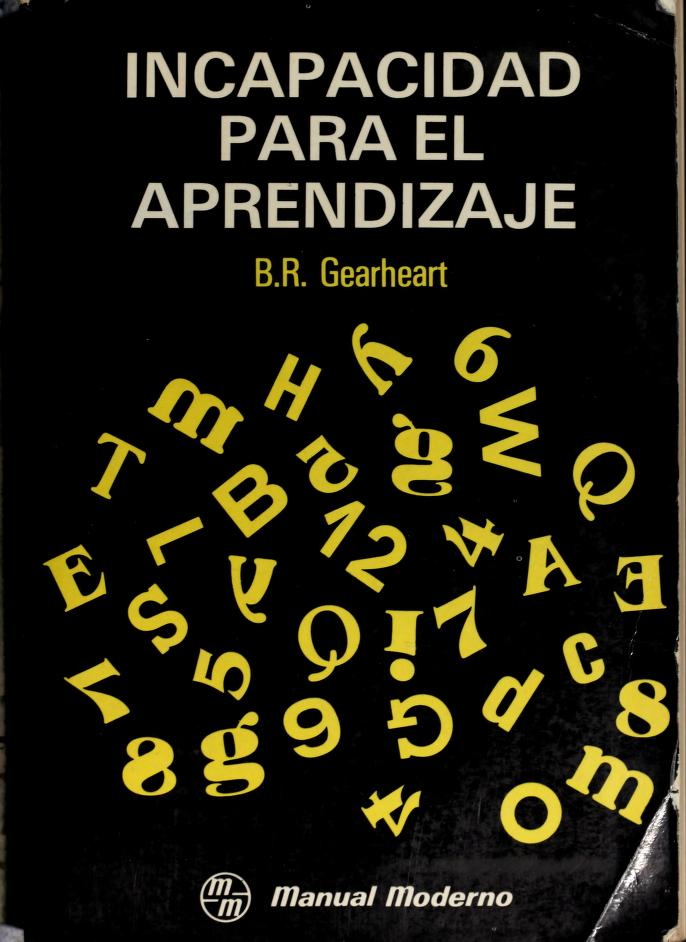 Incapacidad para el aprendizaje by Bill R. Gearheart