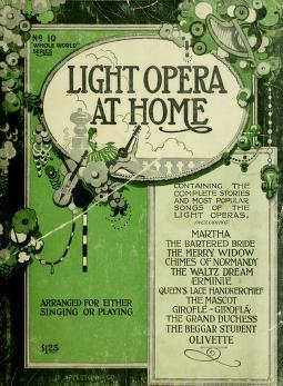Cover of: Light opera at home | Albert E. Wier