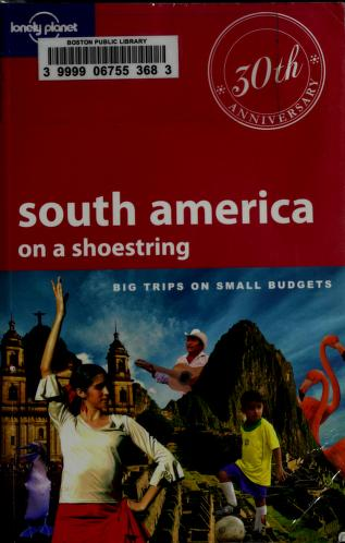 Cover of: South America on a shoestring | Regis St. Lewis