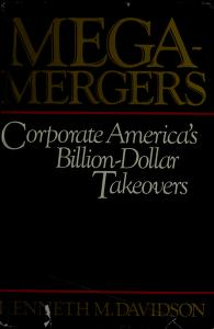 Cover of: Mega-mergers | Kenneth M. Davidson