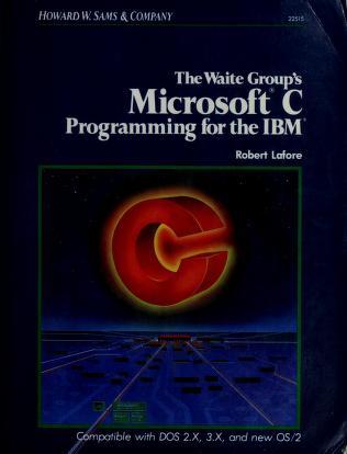 Cover of: Microsoft C | Robert Lafore