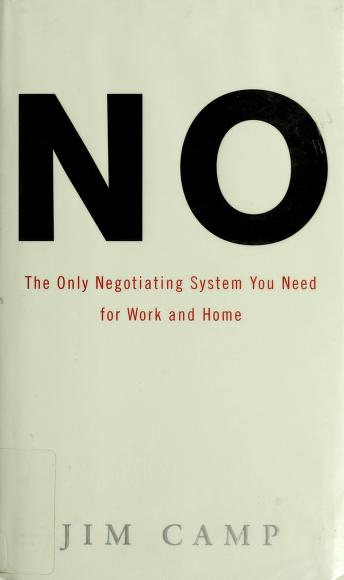 Cover of: No | Jim Camp