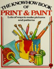 Cover of: Print and paint | Heather Amery