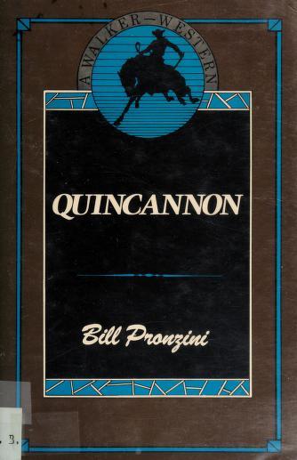 Cover of: Quincannon   Bill Pronzini
