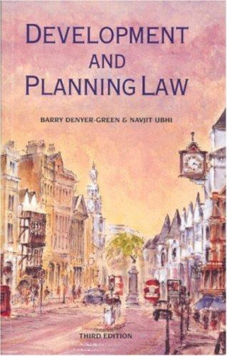 Development and Planning Law