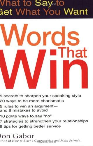 Words That Win by Dan Gabor