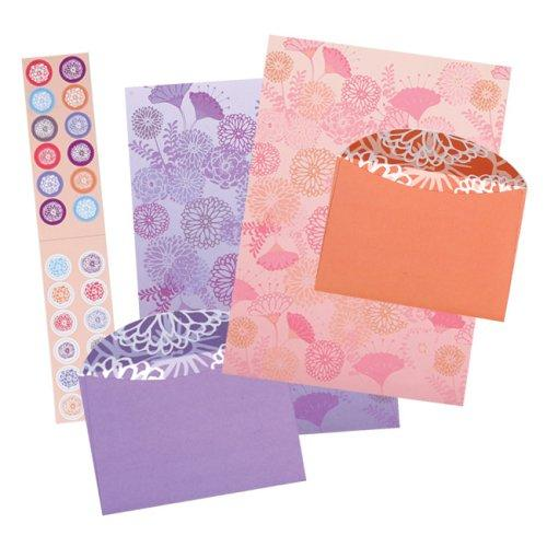 Shanghai Blossoms Write Away Stationery by Galison/Mudpuppy