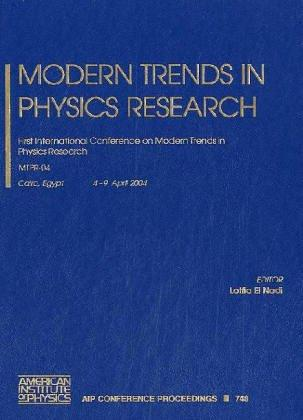 Modern Trends of Physics Research by Lotfia M. El Nadi