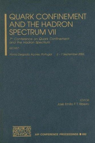 Quark Confinement and the Hadron Spectrum VII by Jose Emilio F. T. Ribeiro