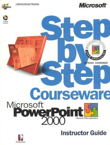 Microsoft  PowerPoint  2000 Step by Step Courseware Trainer Pack (Construction Law Library) by Perspection