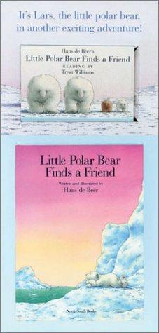Little Polar Bear Finds a Freind Mini Book and Audio Package by hans de Beer