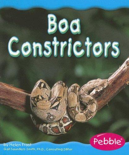 Boa Constrictors (Rain Forest Animals) by Helen Frost