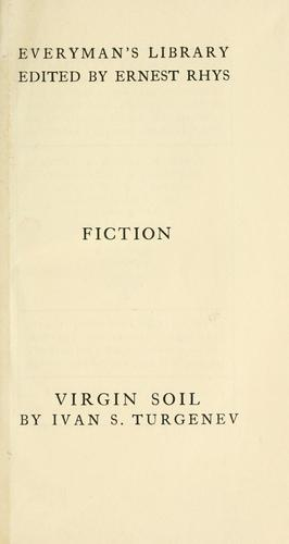 Virgin soil by Ivan Sergeevich Turgenev