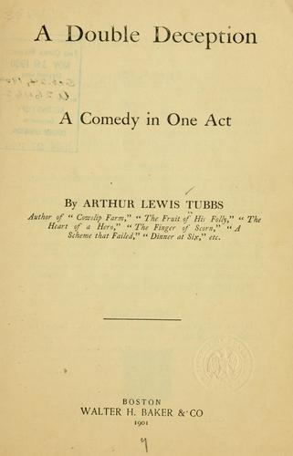 A double deception by Arthur Lewis Tubbs